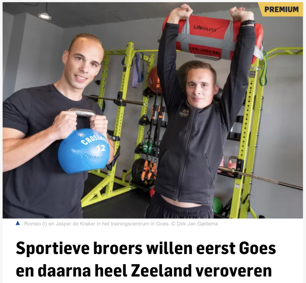 Innovate personal training uit Goes